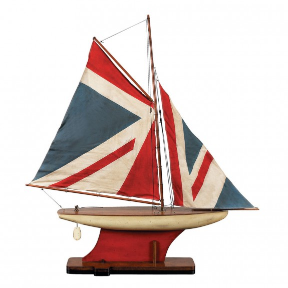 Authentic Models Union Jack Pond Yacht