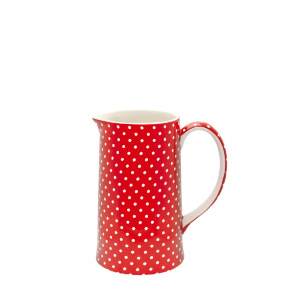 GreenGate Jug Spot Red Large