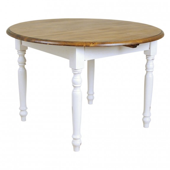 Occa Maison Country Round Dining Table - Antique White