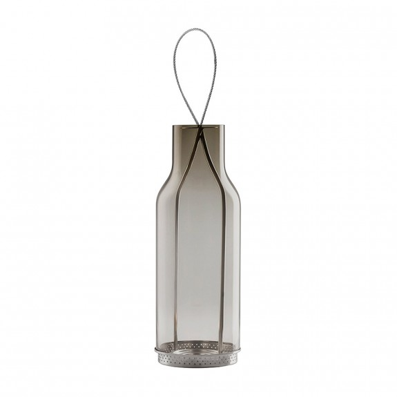 Eva Solo Smokey Grey Glass Lantern