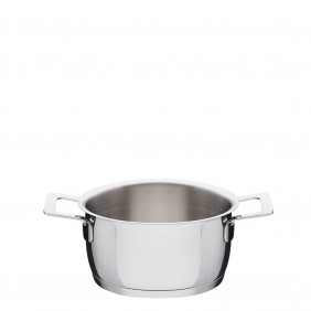 Alessi Casserole Pot With Handles Polished