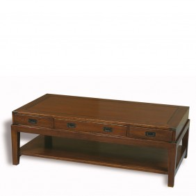 Eichholtz Military Coffee Table Oakwood