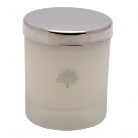 Mulberry Home Frosted Glass  Candle Tuberose & Geranium Small