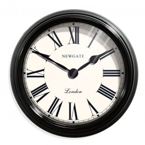 Newgate The Gallery II Clock - Ebony Black Ex Photo Shoot