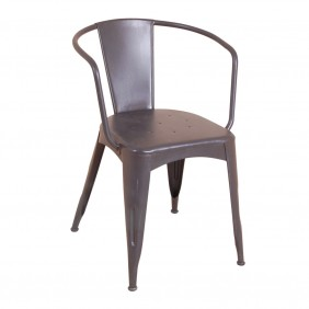 Occa Industrial Navy Chair Occa Industrial Grey