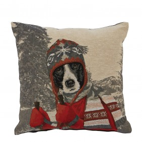 Autrement Dit Eternel Dog Motif Cushion