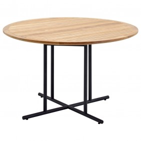 Gloster Whirl Round Dining Table 120 cm - Teak
