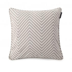 Lexington Ticking Striped Sham - Grey