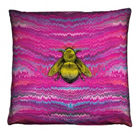 Timorous Beasties Ex Libris Cushion